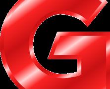 Letra G roja