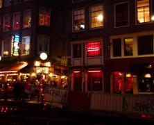 Barrio rojo Amsterdam
