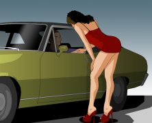 Prostituta imagen pre diseñada