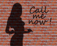 "Graffitti ""Call me Now"""