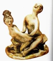 Estatua arte erotico